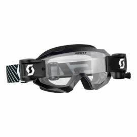 Scott Hustle WFS Roll-off Szemüveg (Fekete-Fehér)
