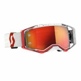 Scott Prospect Piros-Fehér MX Szemüveg
