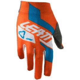 Leatt GPX 1.5 Gyerek Motocross Kesztyű (Narancs-kék)