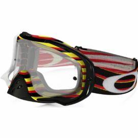 Oakley Crowbar Nemesis Motocross Szemüveg(piros-sárga)