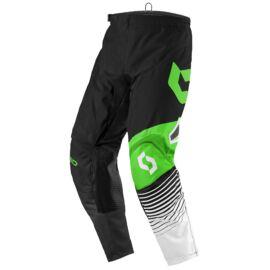 Scott 350 Track Motocross Nadrág (Fekete-zöld)