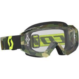 Scott Hustle Motocross Szemüveg(szürke-fluo sárga)