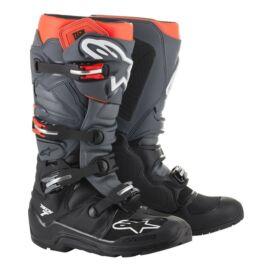 Alpinestars Tech 7 Enduro Csizma (Fekete-szürke-piros)