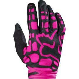 Fox Dirtpaw MX17 Női Motocross Kesztyű(fekete-pink)