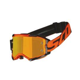 Scott Fury Motocross Szemüveg (Narancs-fekete)