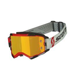 Scott Fury Motocross Szemüveg (Piros-fekete)