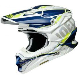 Shoei VFX-WR Allegiant TC-3 Motocross Bukósisak (Kék-fehér)