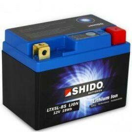 Shido LI-ION motor akkumulátor - LTX5L-BS