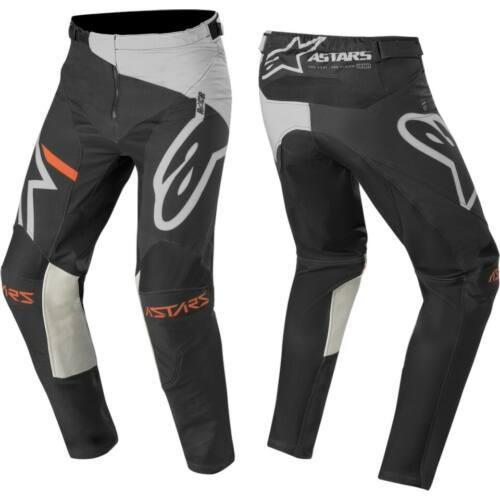 Alpinestars Racer Compass Gyerek Motocross Nadrág (Light Gray Black)