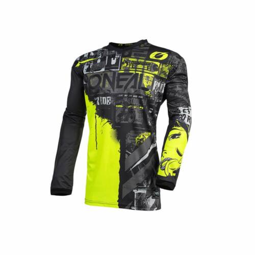 Oneal Element Ride Gyerek MX Mez (Black-Neon)