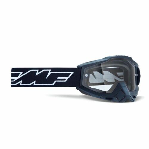 FMF Powerbomb Rocket Enduro Szemüveg (Fekete-Dupla víztiszta)