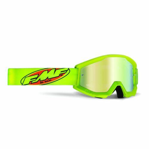FMF PowerCore Core MX Szemüveg (Fluo sárga-Arany tükrös)