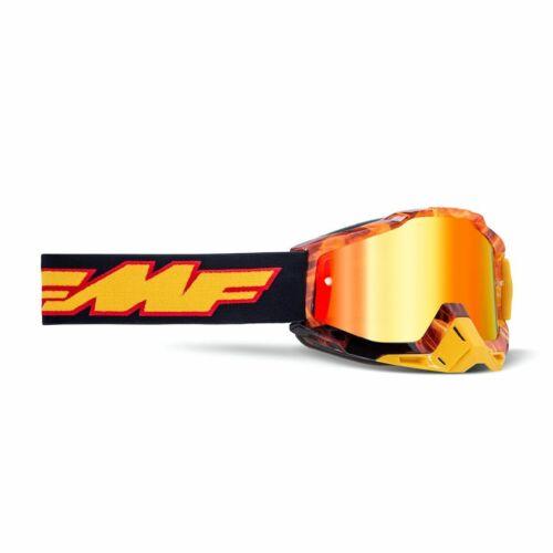 FMF Powerbomb Spark MX Szemüveg (Piros tükrös)
