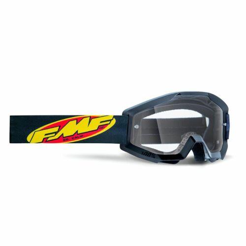 FMF PowerCore Core MX Szemüveg (Fekete-Víztiszta)