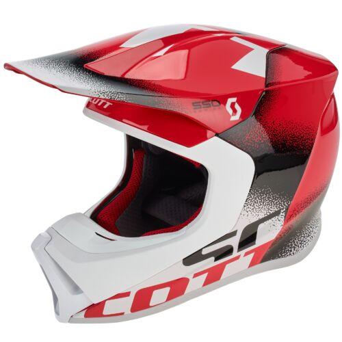 Scott 550 Noise ECE MIPS MX Bukósisak (Piros)