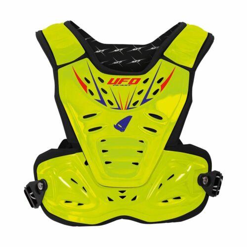 Ufo Reactor II Motocross Páncél (Fluo sárga)