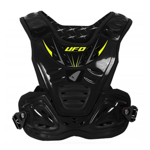 Ufo Shockwave ECE Gyerek Motocross Páncél (Fekete)