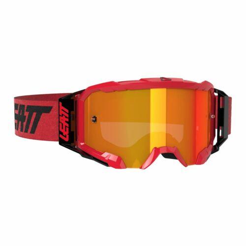 Leatt Velocity 5.5 Iriz Motocross Szemüveg (Red-red)
