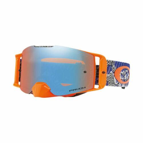 Oakley Front Line Dazzle Dyno MX Szemüveg (Orange)