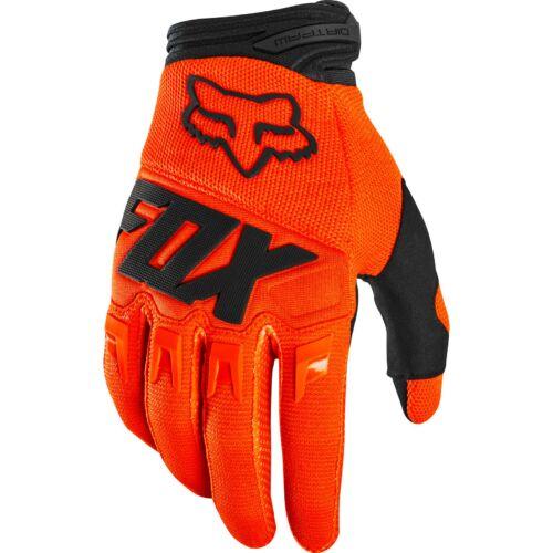 Fox Dirtpaw Race Motocross Kesztyű (Fluo-narancs)