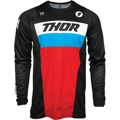 Thor Pulse Racer Motocross Mez (Fekete-piros-kék)