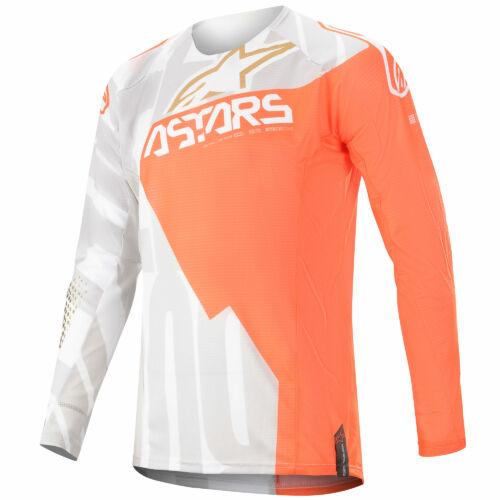 Alpinestars Techstar Factory Metal MX Mez (White-orange-gold)
