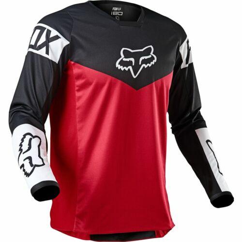 Fox Racing 180 Revn Motocross Mez (Fekete-piros)