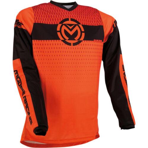 Moose Racing Qualifier Motocross Mez (Narancs-fekete)
