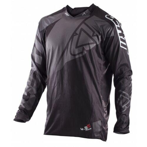 Leatt GPX 4.5 Lite Motocross Mez (Fekete-szürke)