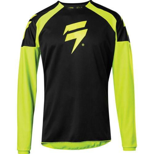 Shift Whit3 Label Race MX Mez (Fluo sárga-fekete)