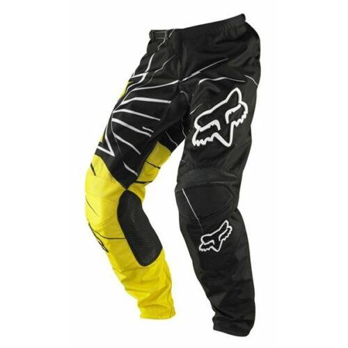 Fox 180 Rockstar Motocross Nadrág (Fekete-sárga)