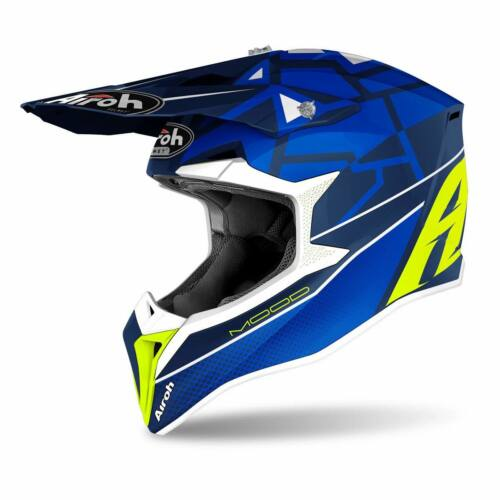 Airoh MX Wraap Mood Motocross Bukósisak (Kék)