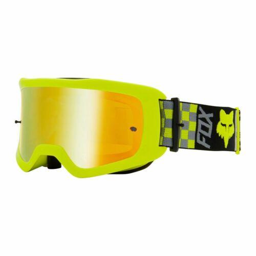 Fox Main II Barren MX Szemüveg (Sárga)