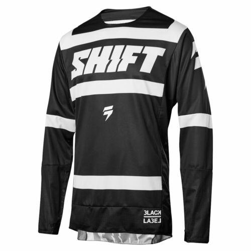 Shift 3Lack Strike Motocross Mez (fekete-fehér)