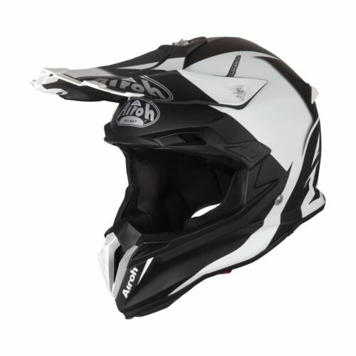 Airoh Terminator Open Vision Slider MX Bukósisak (Fekete-fehér)