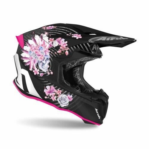 Airoh Twist 2.0 Mad Bukósisak (Pink-Fekete matt)