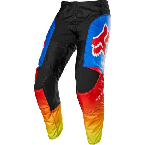Fox 180 Fyce Motocross Nadrág (Blue-red)