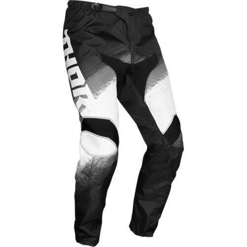 Thor Pulse Racer Motocross Nadrág (Fekete-fehér)