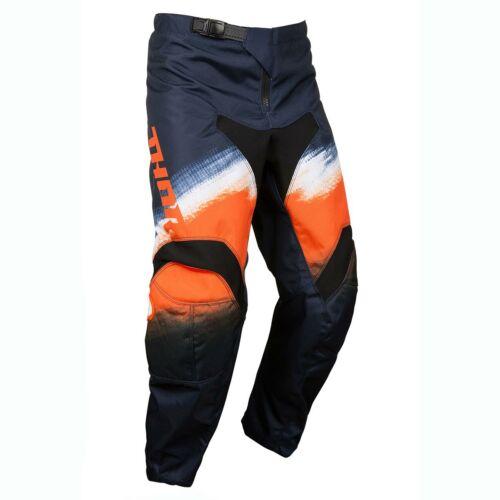 Thor Pulse Racer Motocross Nadrág (Narancssárga-fekete)