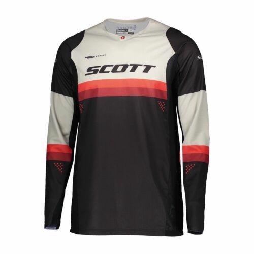 Scott 450 Podium Motocross Mez (fekete-piros)
