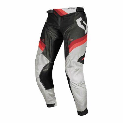Scott 450 Podium Motocross Nadrág (fekete -piros)
