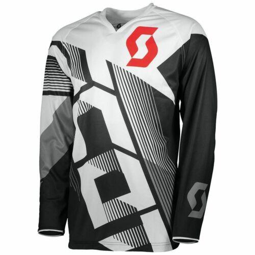 Scott 350 Dirt Motocross Mez (fekete-fehér)