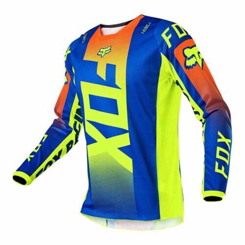Fox Racing 180 Oktiv Motocross Mez (Kék)