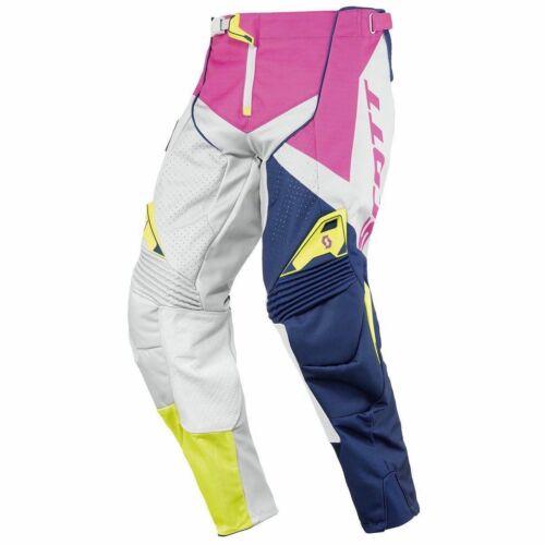 Scott 450 Podium Motocross Nadrág (pink-zöld)