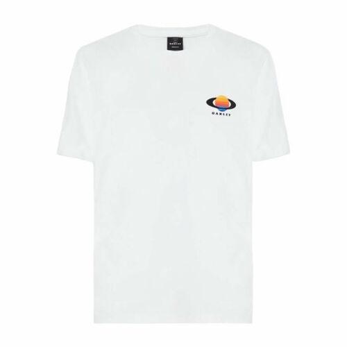 Oakley Planet Rövid Ujjú Póló (fehér)