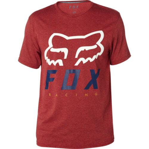Fox Heritage Forger Tech Rövid Ujjú Póló (burgundy)