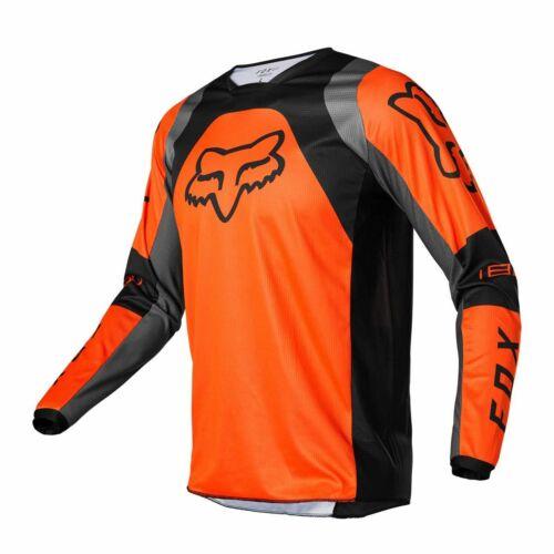 Fox Racing 180 LUX Motocross Mez (Narancs)