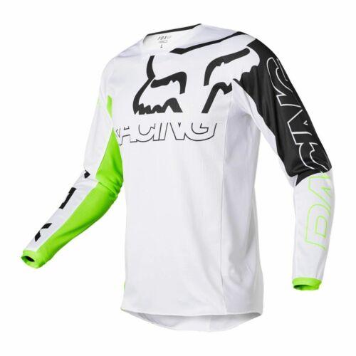 Fox Racing 180 SKEW Motocross Mez (Fluo Sárga)