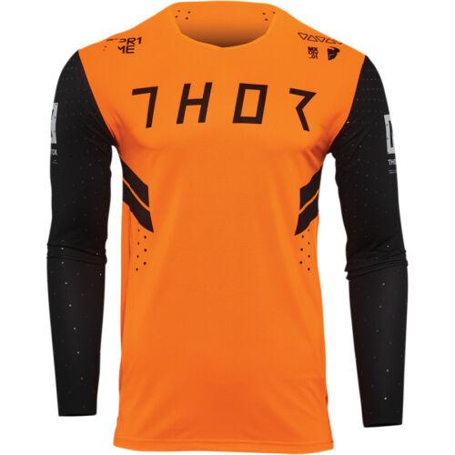Thor Prime Hero Motocross Mez (Fekete-fluo orange)