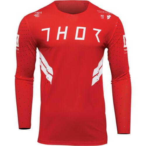 Thor Prime Hero Motocross Mez (Piros-fehér)